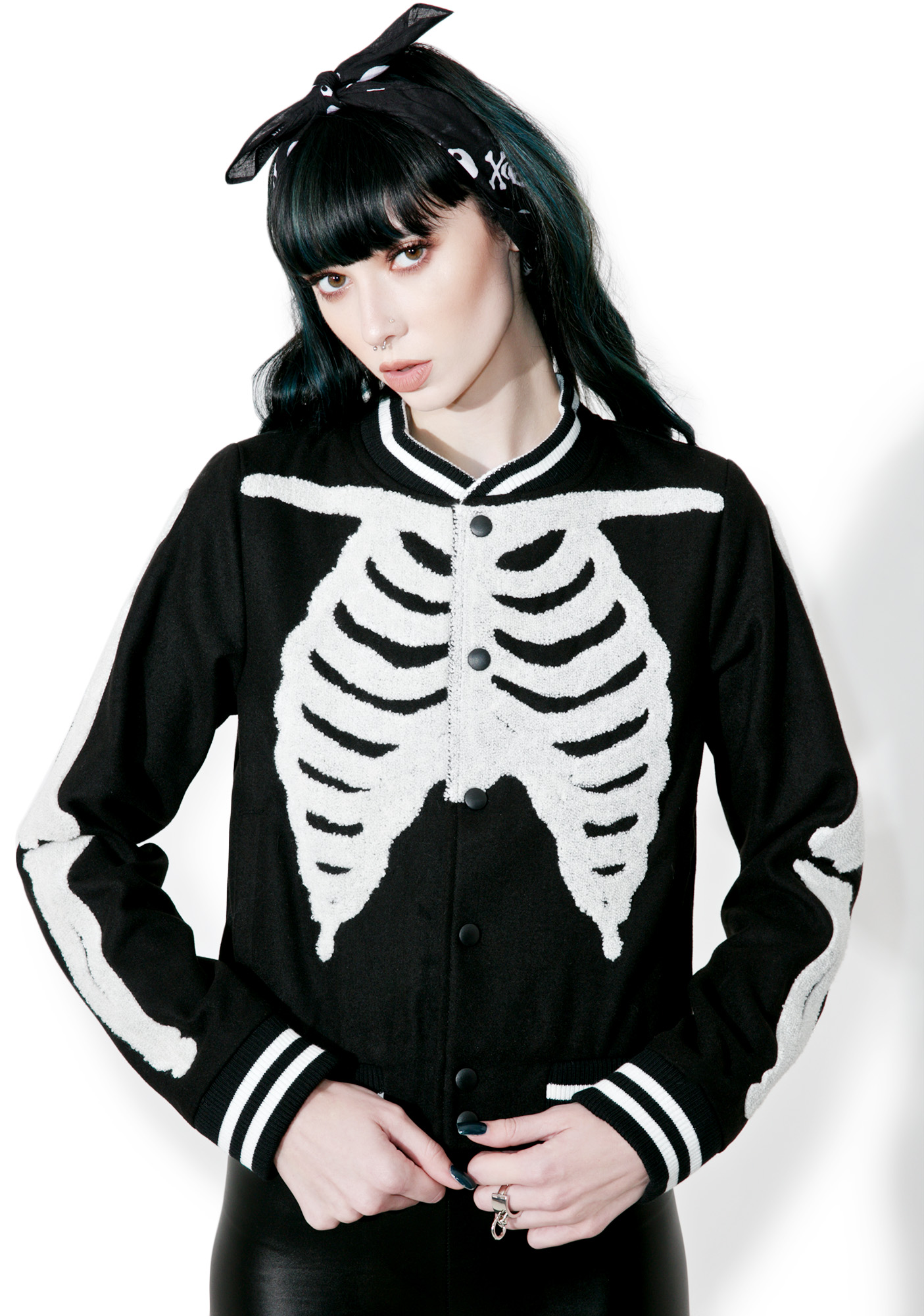 Iron Fist Wishbone Varsity Jacket