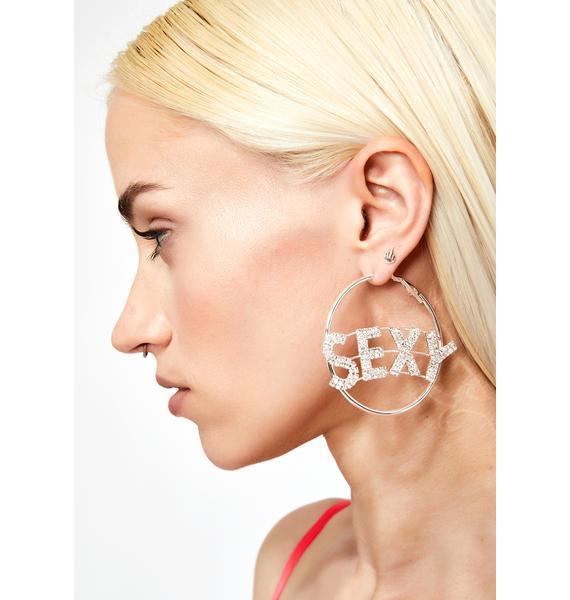 Sexy AF Hoop Earrings