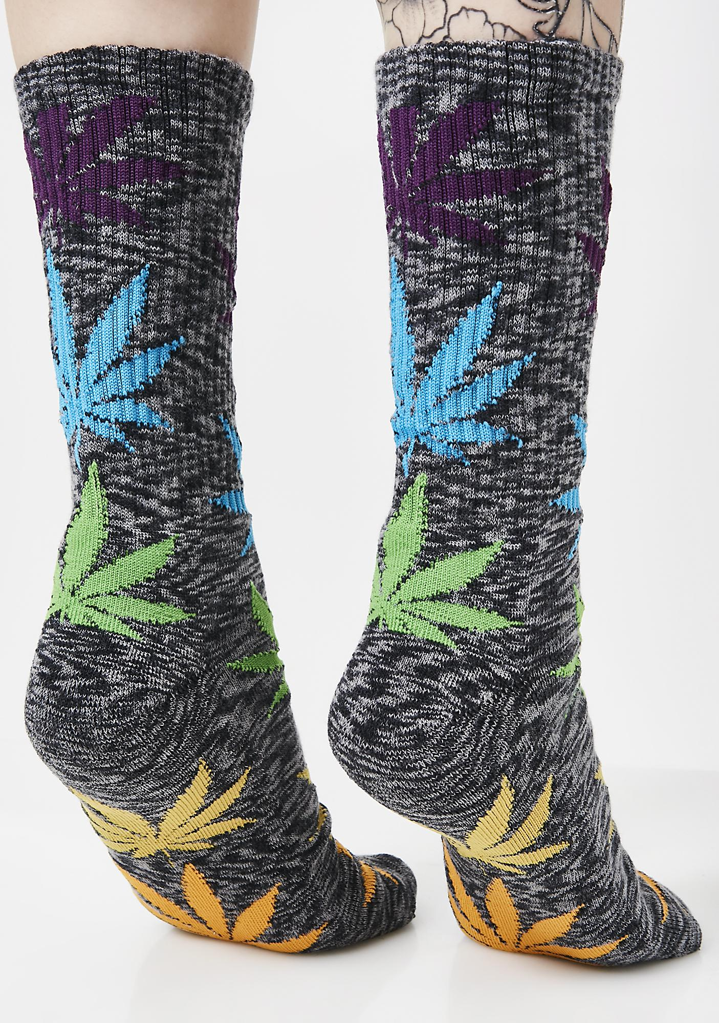 HUF Melange Plantlife Socks