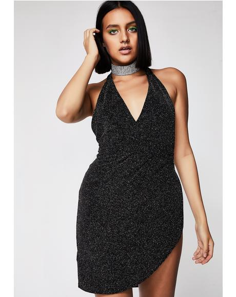 Slip It On Shimmery Dress