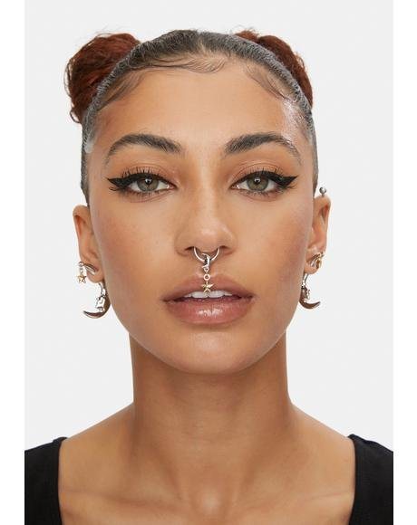 Align The Planets Nose Ring Set