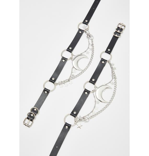 Moon Child Chain Boot Harness Set