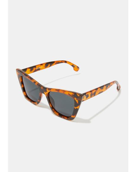 Ashbury Honey Tort Sunglasses
