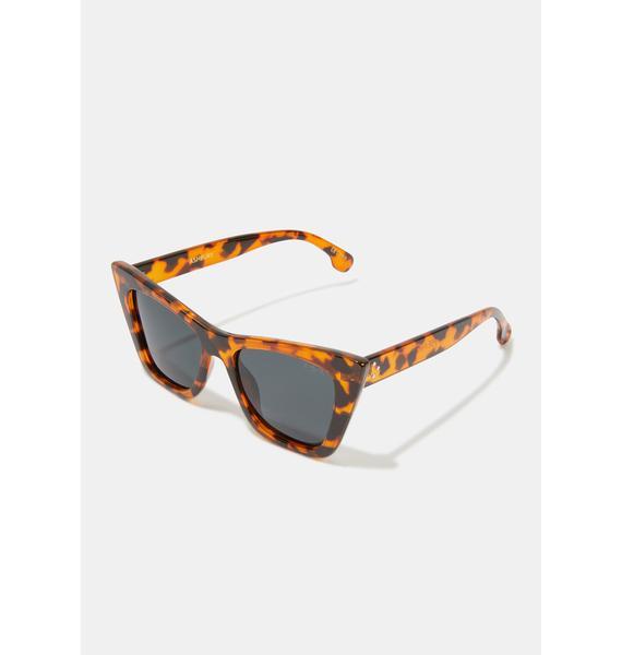 I-SEA Ashbury Honey Tort Sunglasses