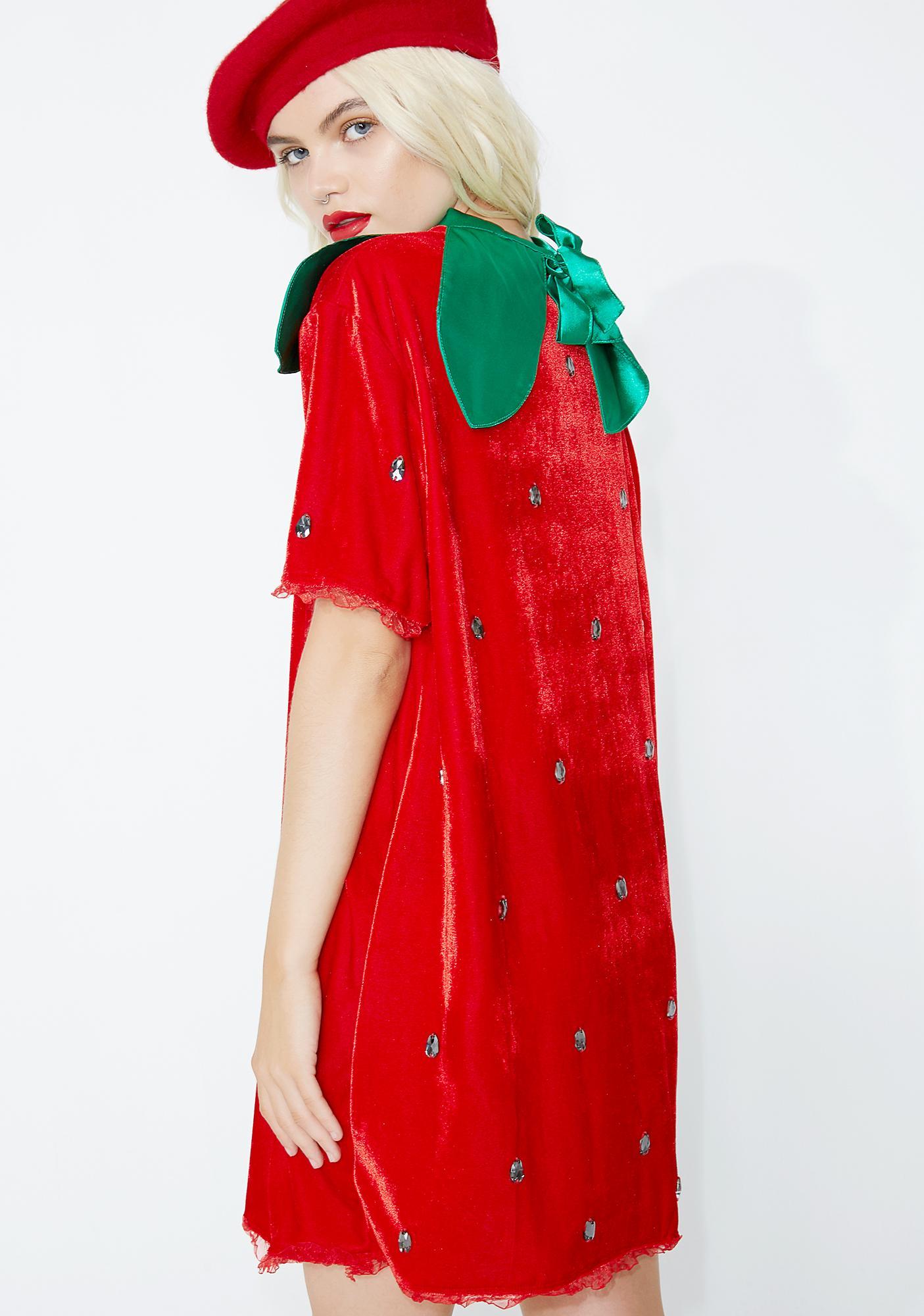 f8ffec50d30 Berry Delicious Strawberry Costume