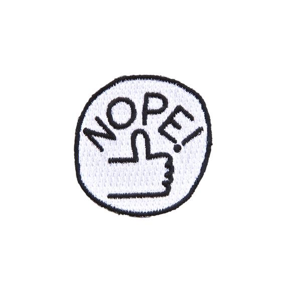 Valley Cruise Press Feelings (Nope!) Stick-On Patch