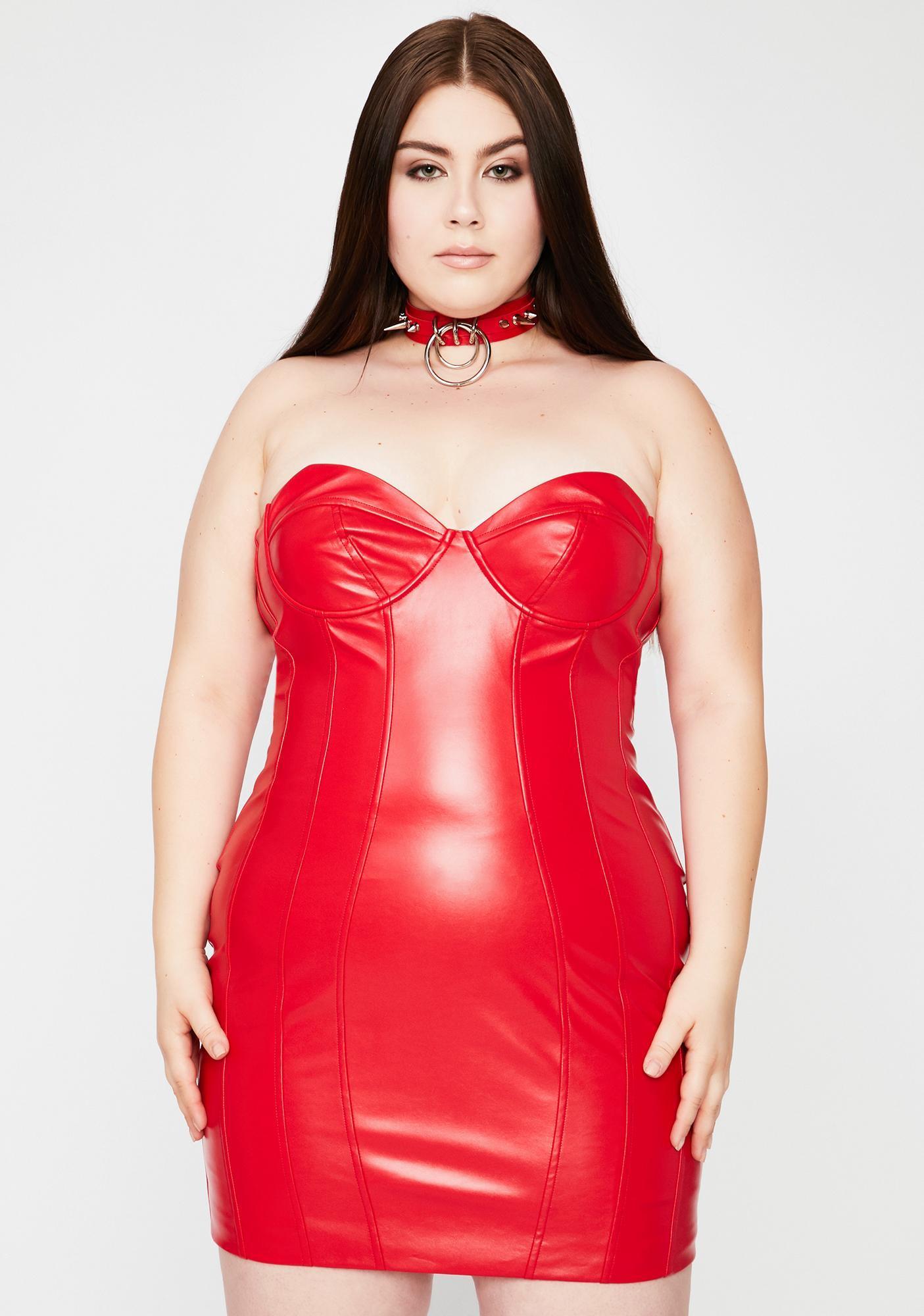 Cherry Better Buy Me Somethin' Bodycon Dress