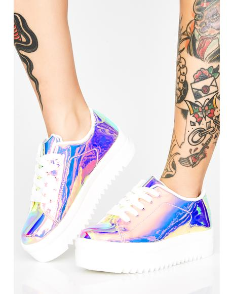 Pixie Light Chemistry Platform Sneakers