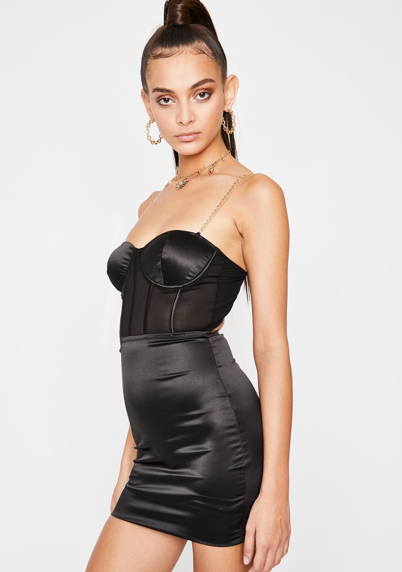 Flaunt It Bustier Dress