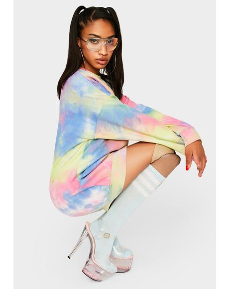 Chasing Daybreak Tie Dye Dress