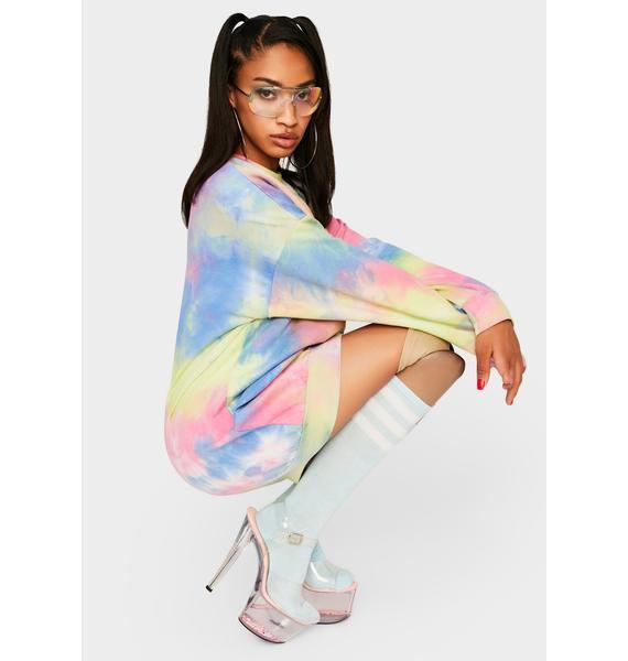 Chasing Daybreak Tie Dye Dress