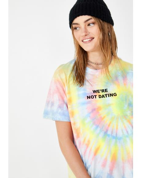 We're Not Dating Graphic Tee