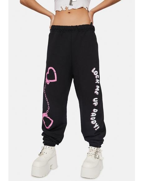Lock Me Up Sweatpants