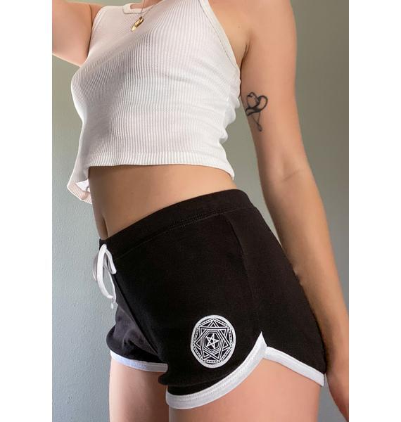Too Fast Satan's Girl Booty Shorts