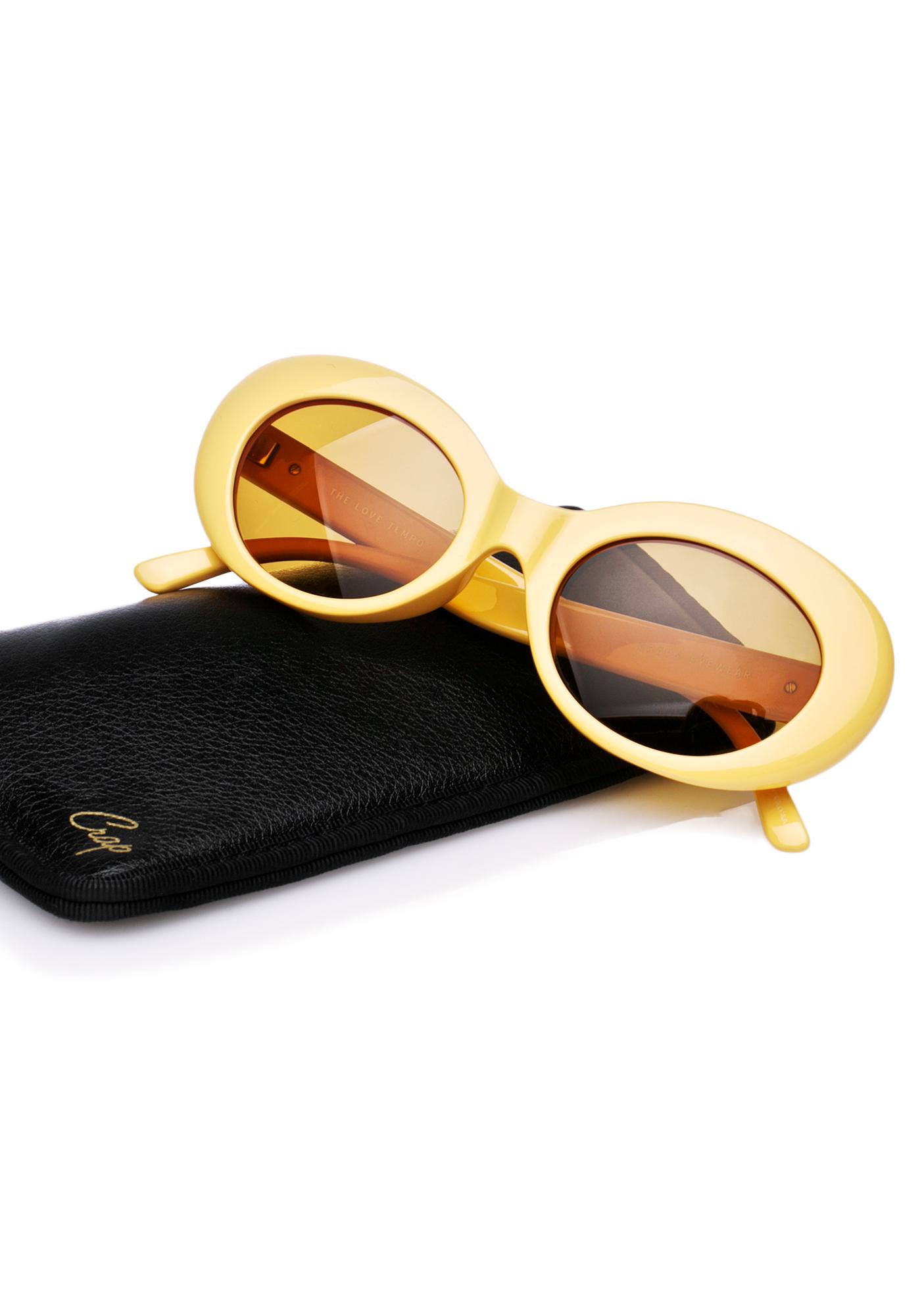 Crap Eyewear The Sunshine Love Tempo Sunglasses