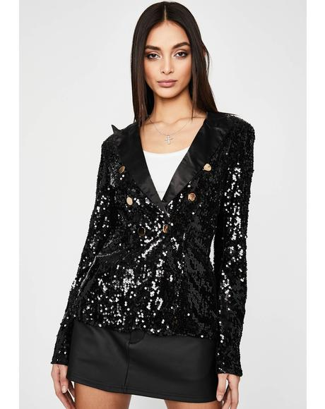 In The Spotlight Sequin Blazer