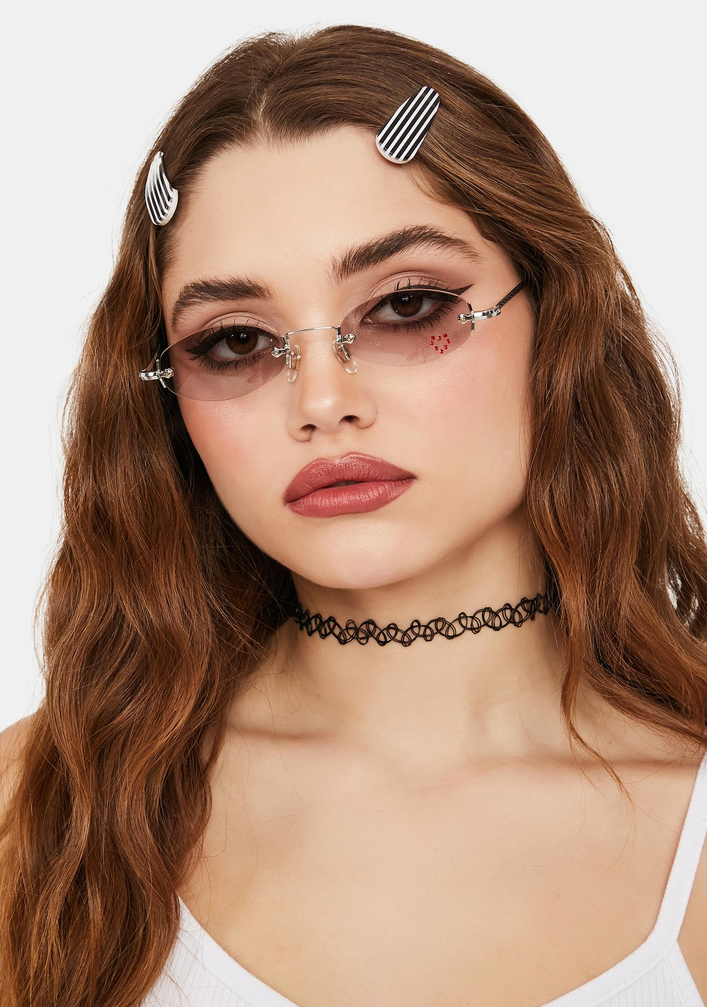 Good Times Eyewear She's All That Oval Sunglasses