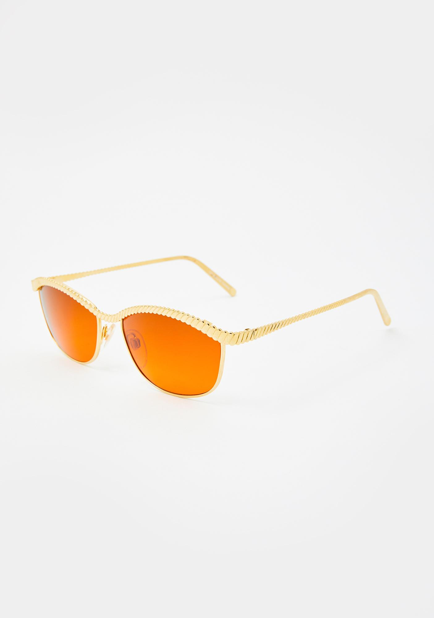 Good Times Eyewear Dawn Gold Sunglasses