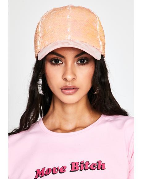 Glam Advantage Sequin Cap