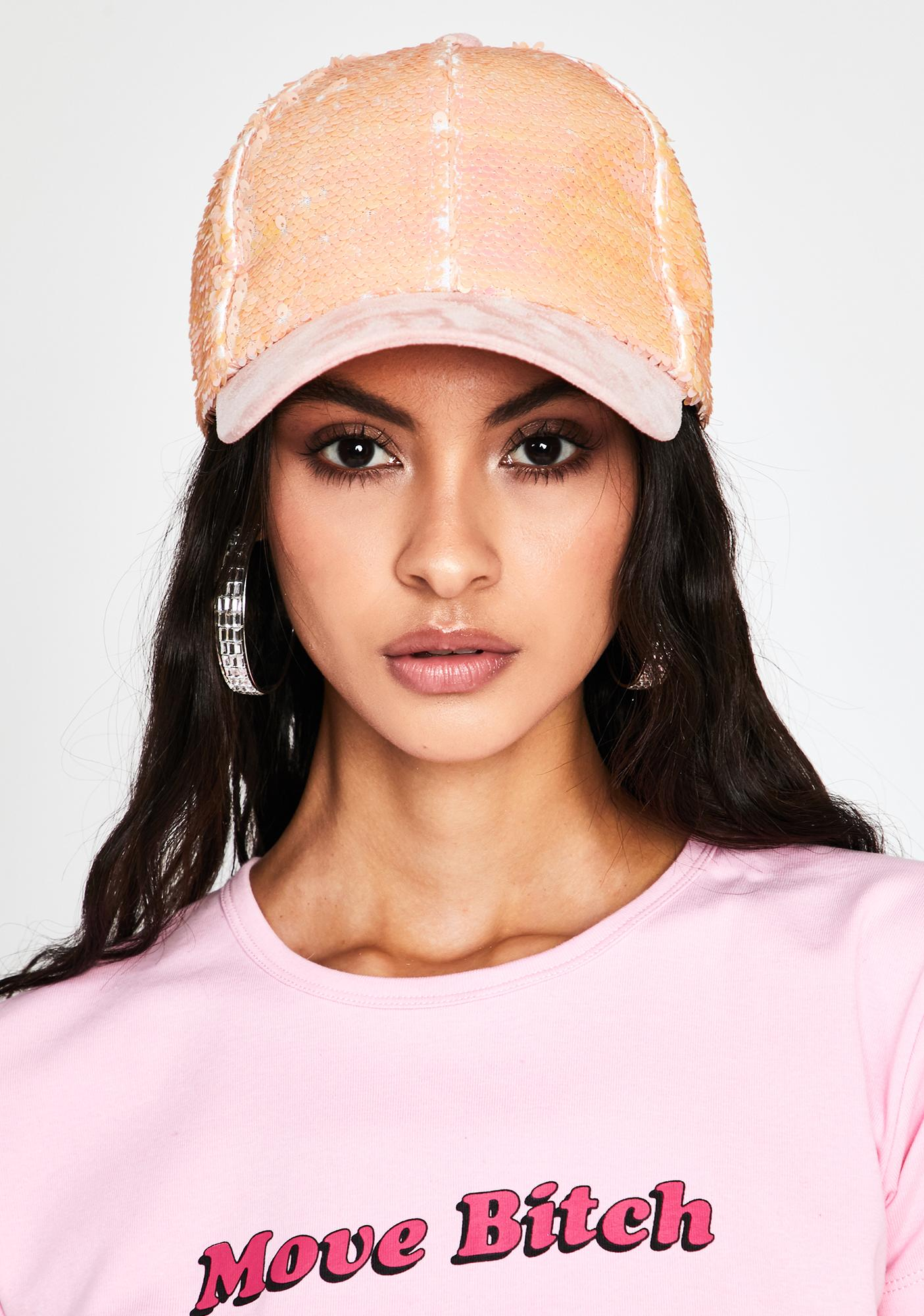 Glam Advantage Sequin Cap