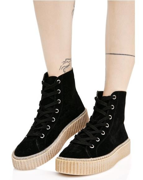 Iyla Hi Top Creeper Sneakers