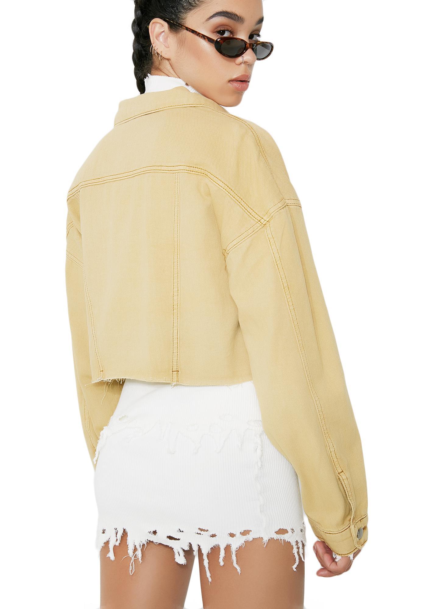 My Prerogative Cropped Jacket