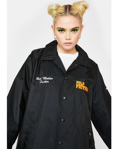 x Pulp Fiction Coaches Jacket