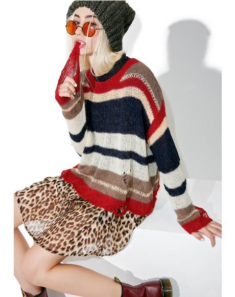 Dream Haze Yarn Sweater