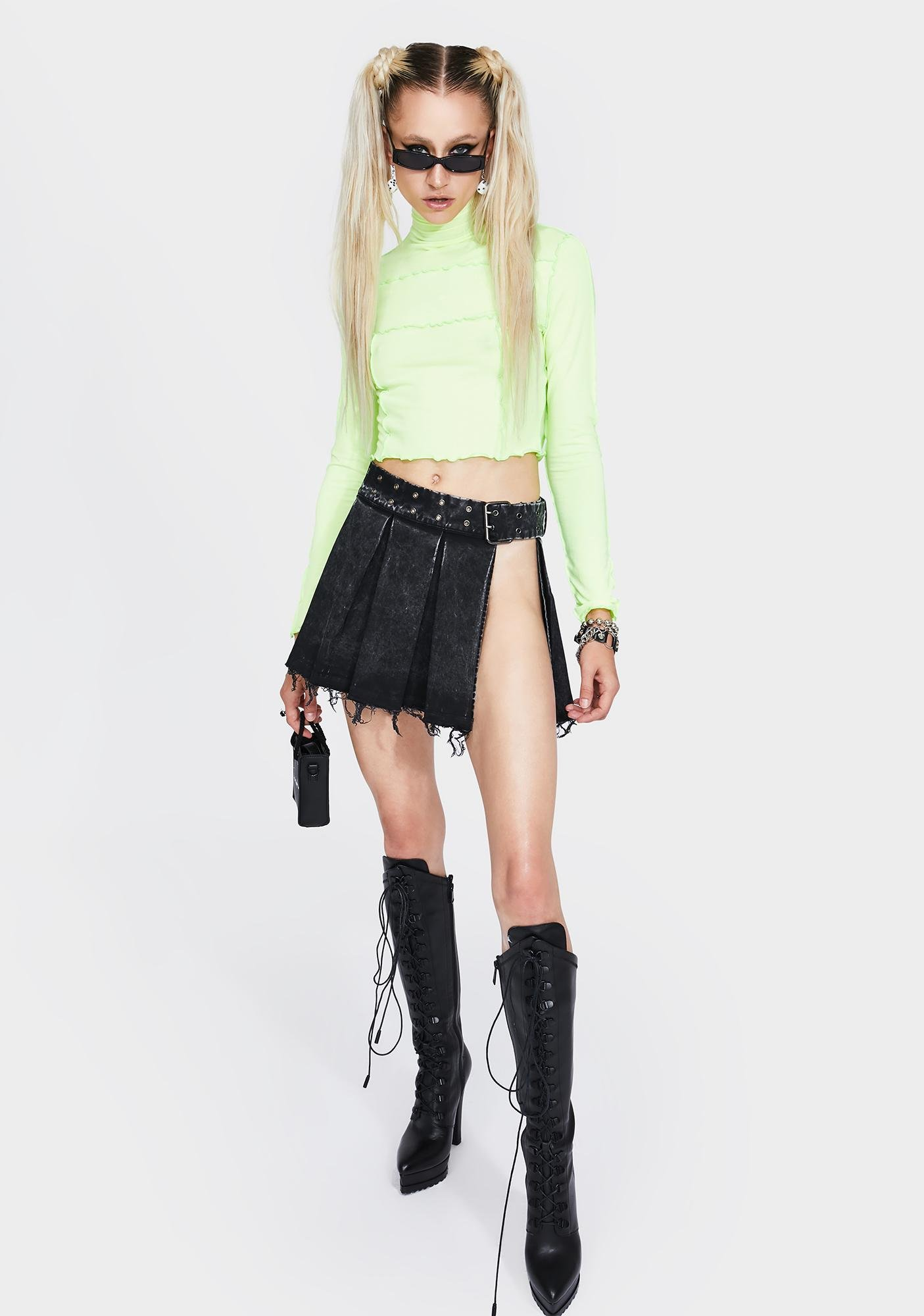 Kiki Riki Shock So Overlooked Crop Top