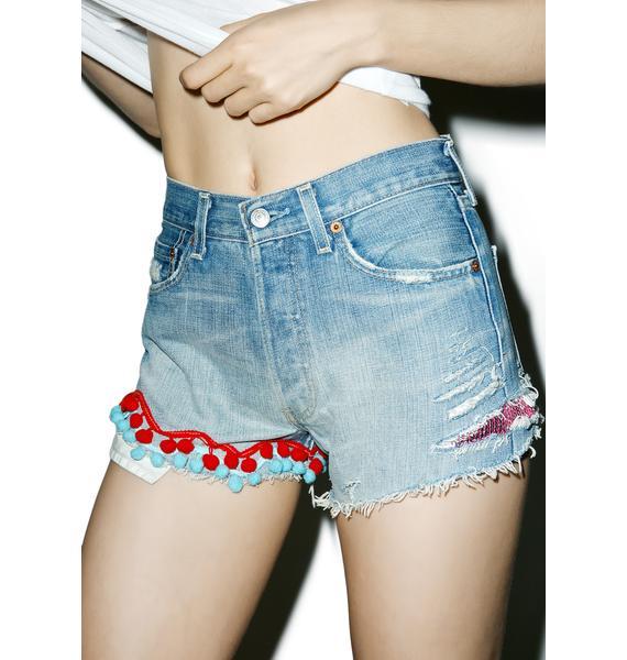 Rag Doll Skynyrd Shorts