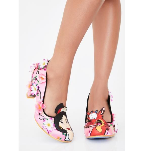 Irregular Choice Let Dreams Blossom Mid Heels