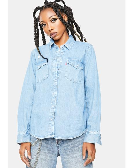 Day Tripper Essential Denim Shirt