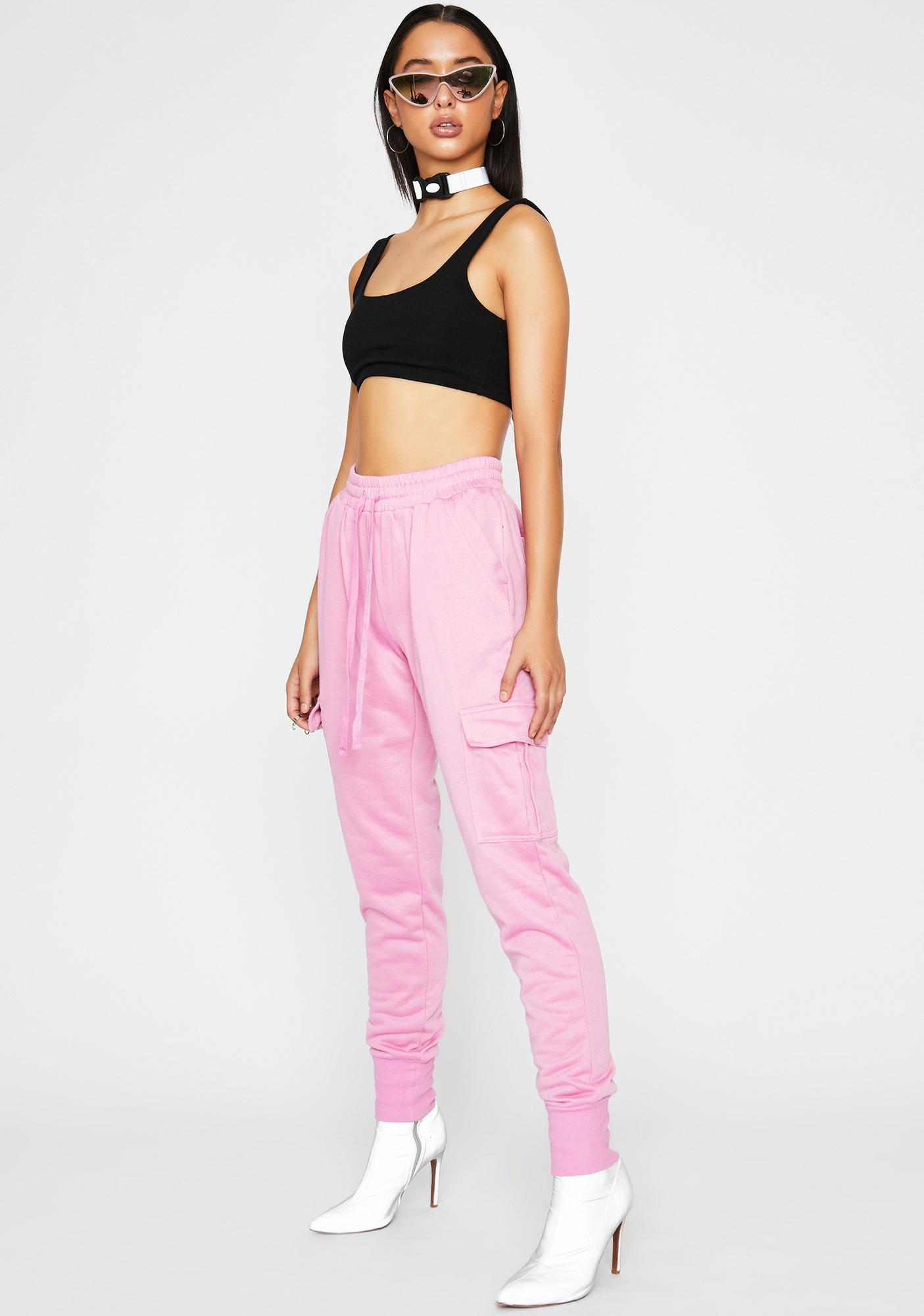 Clocked Out Cargo Joggers