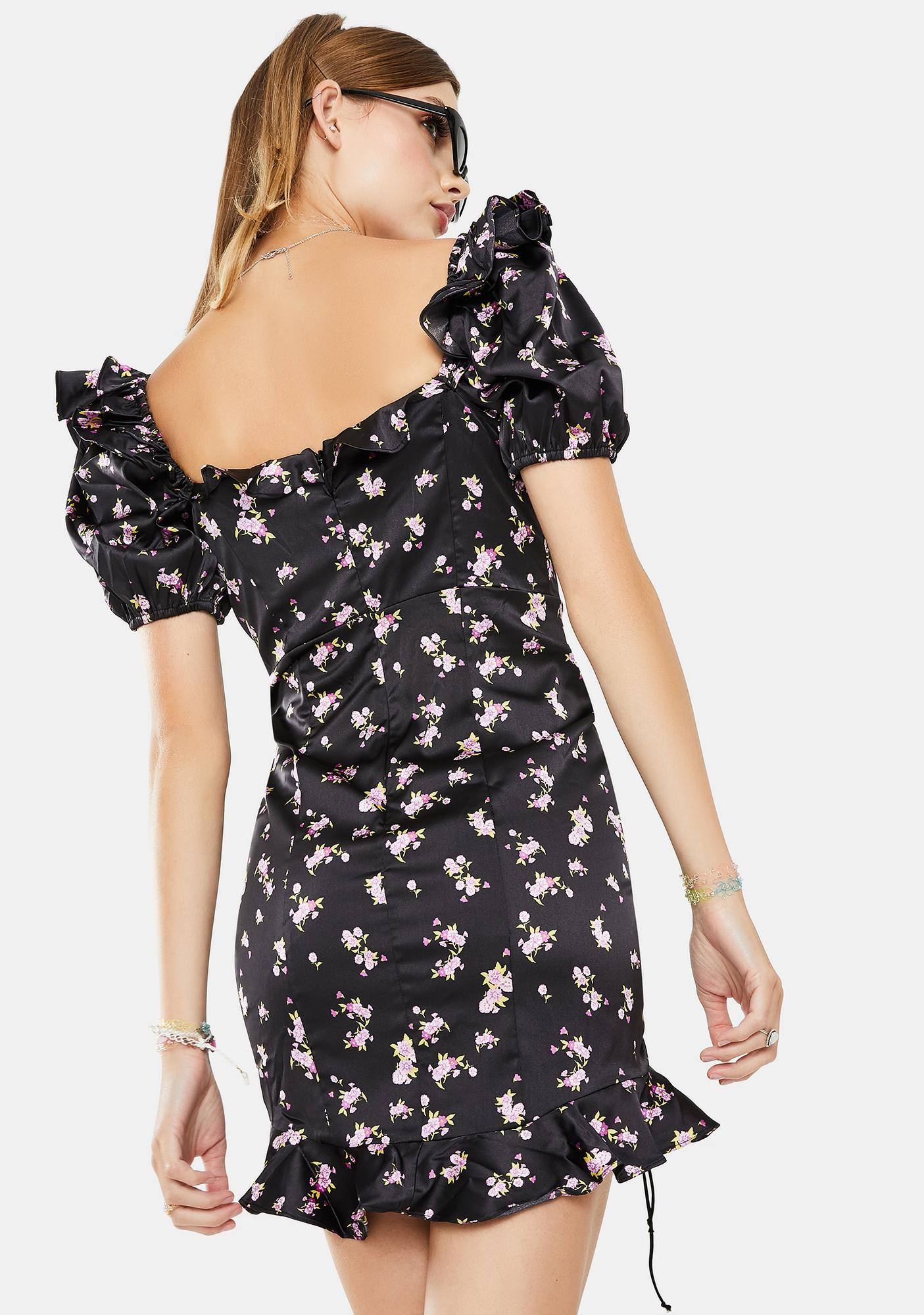 For Love & Lemons Laramie Mini Dress