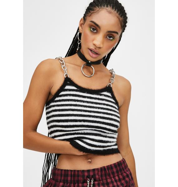 The Ragged Priest Record Crop Top