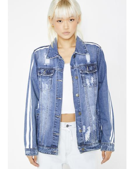 Cut To The Chase Denim Jacket