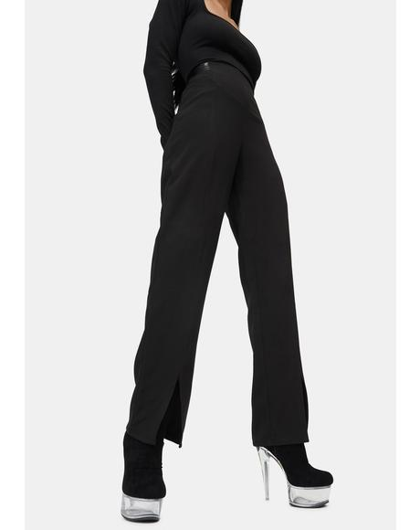 Ella Split Cuff Trousers