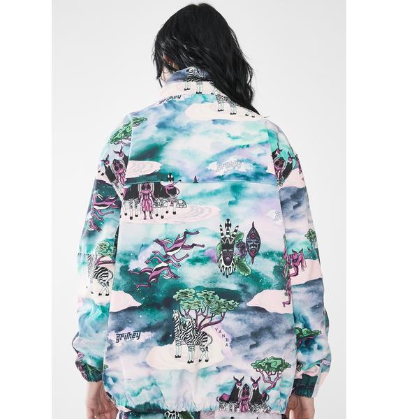 GRIMEY Yanga Printed Track Jacket