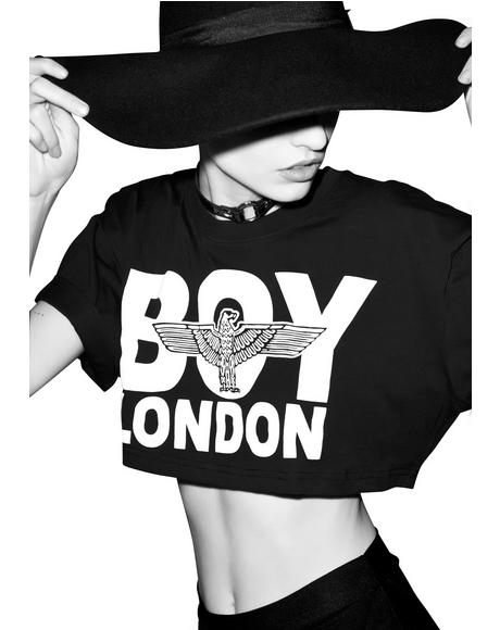 Boy London Crop Top