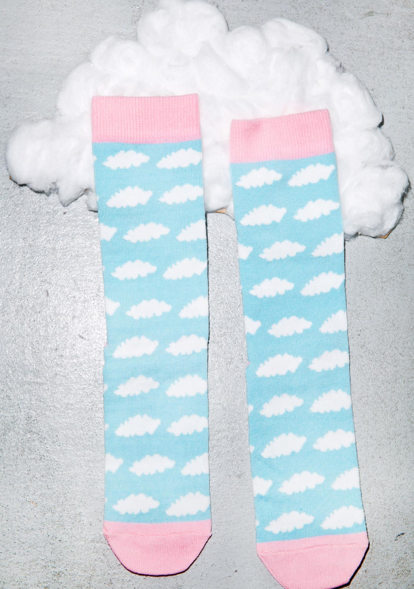 Lazy Oaf Cloud Socks