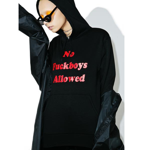 Married to the Mob F Boys Hoodie