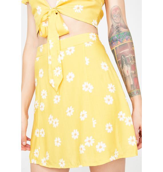 Budding Bae Mini Skirt