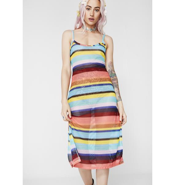Seeing Rainbowz Knit Dress
