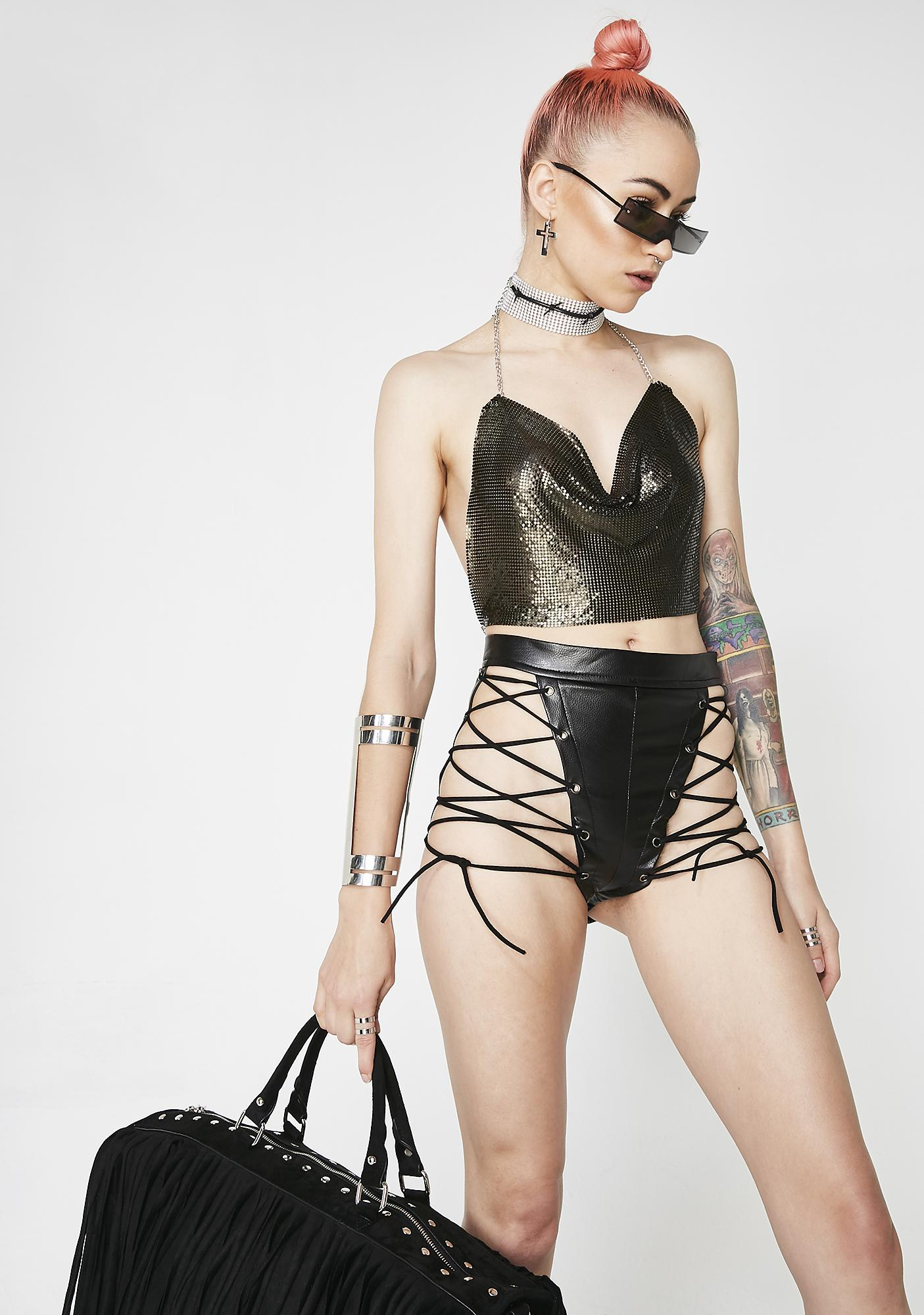 Flaunt It Chainmail Top