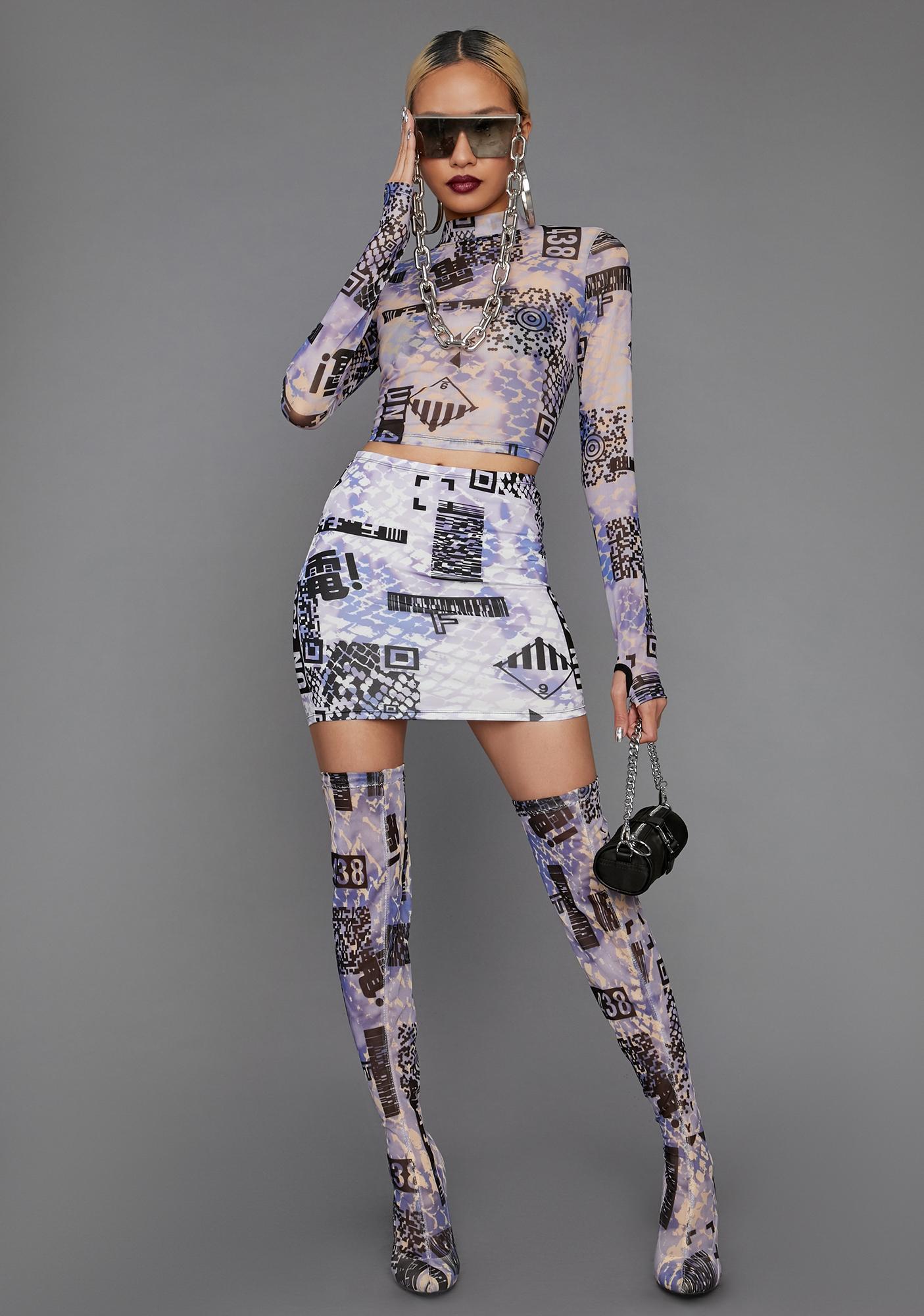 Poster Grl QR Cutie Mini Skirt