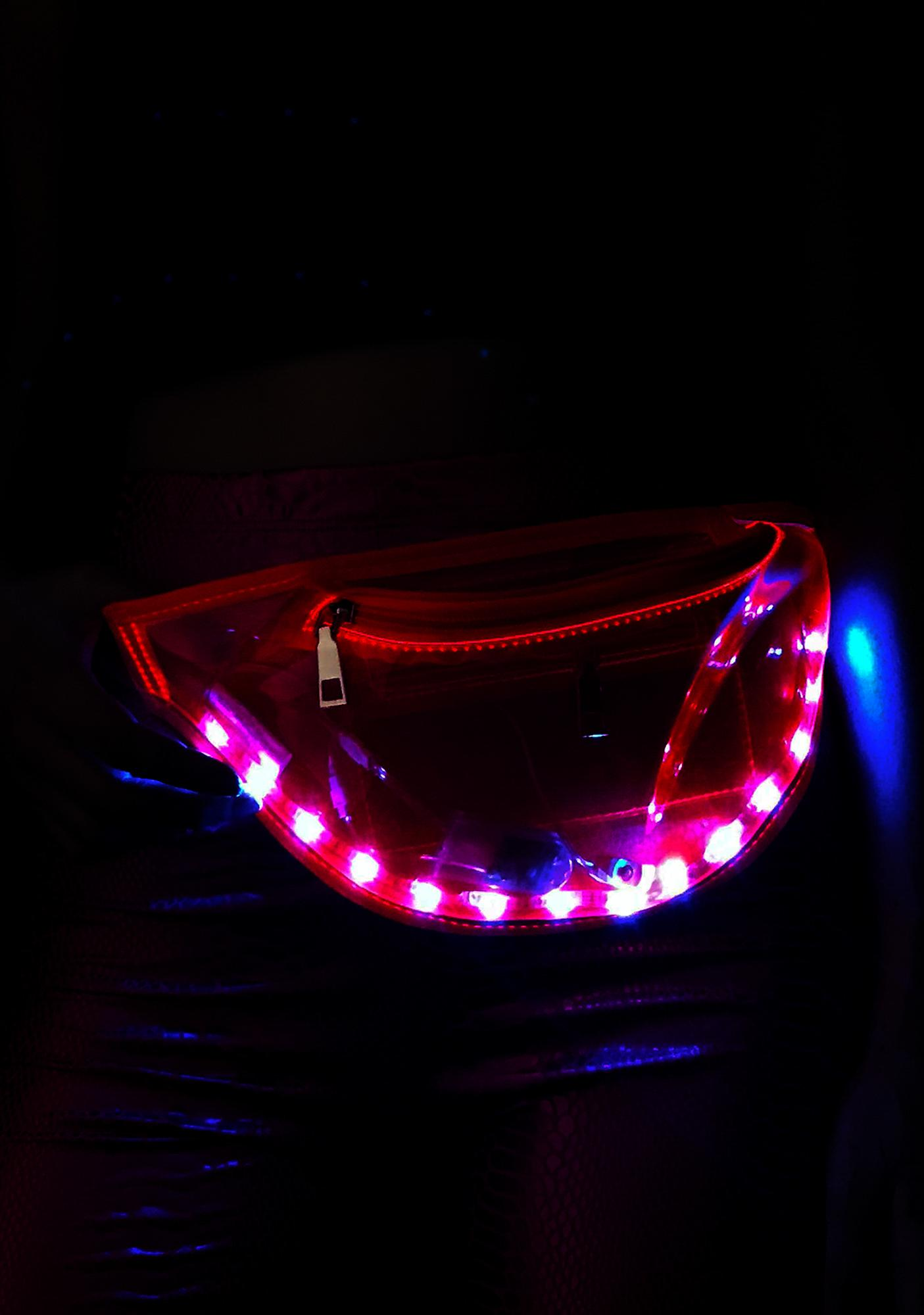 Pixie Space Alien Light Up Fanny Pack