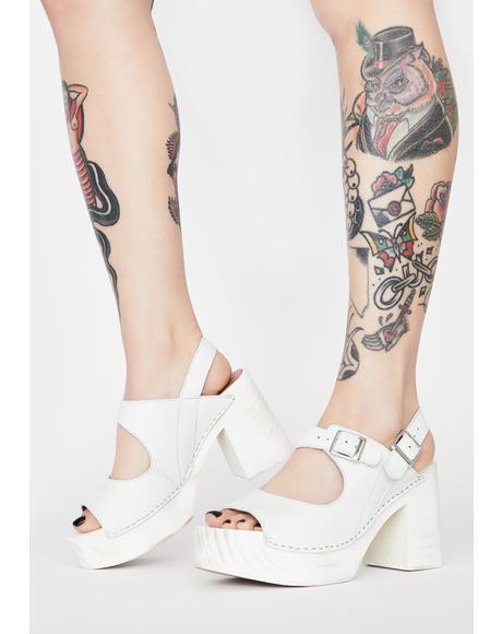 Belem's Clog Heels