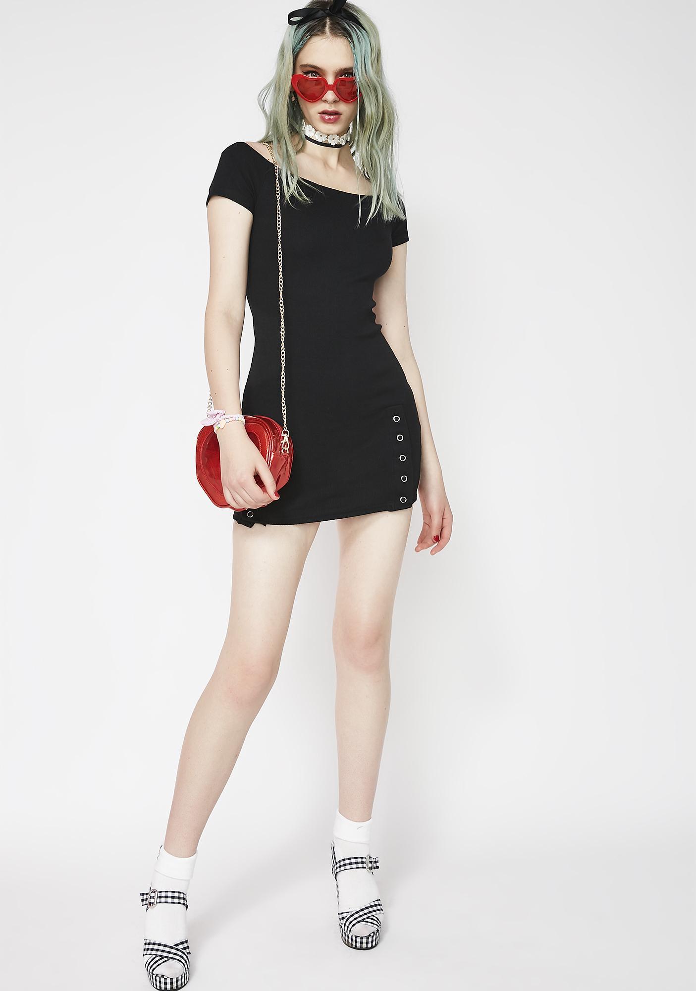 Fresh Gossip Snap Dress