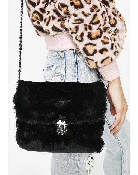 Luxe Lady Faux Fur Bag