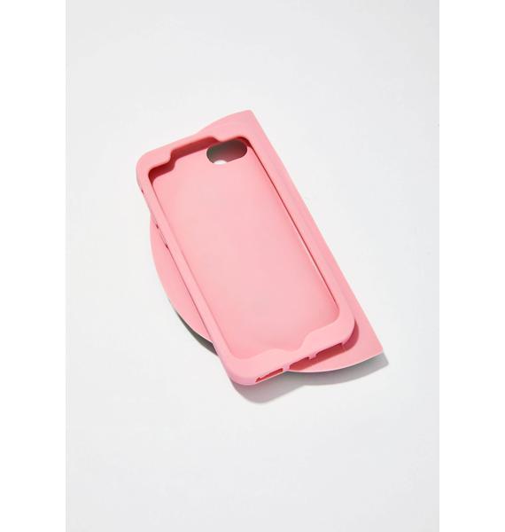 Skinnydip Watermelon Glitter Silicone iPhone Case